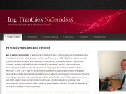WEBOVÁ STRÁNKA Ing. František Načeradský