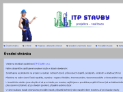 WEBOVÁ STRÁNKA ITP STAVBY, s.r.o.