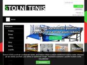 WEBOVÁ STRÁNKA Jan Pelikán Prodejna potřeb pro stolní tenis Brno