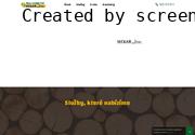 WEBOVÁ STRÁNKA Lesnictví, těžba a zpracování dřeva - Jan Sečkař