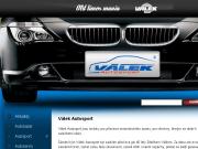 WEBSEITE Petr Valek - autoservis, autosport