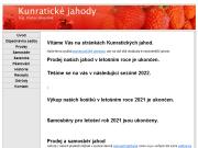 WEBOVÁ STRÁNKA Kunratické jahody