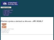 WEBOVÁ STRÁNKA Pilařská výroba a obchod se dřevem - JIŘÍ VESELÝ