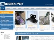 WEBOVÁ STRÁNKA KEBEK PTC s.r.o.