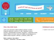 WEBOVÁ STRÁNKA Kiki klub, s.r.o. Dětské centrum Zlín