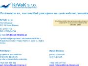 WEBOVÁ STRÁNKA KrVaK s.r.o.