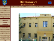 WEBOVÁ STRÁNKA Obec Dětmarovice