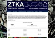 WEBOVÁ STRÁNKA Zámečnictví Twardzik Miroslav Twardzik