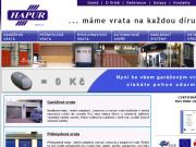 WEBOV� STR�NKA HAPUR spol. s r.o.