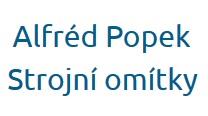 Alfréd Popek - strojní omítky