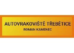 Autovrakoviště TŘEBĚTICE Roman Kamenec
