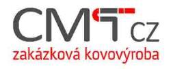 CMT CZ s.r.o. zakázková kovovýroba