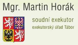Exekutorský úřad Tábor - Horák Martin, Mgr. Soudní exekutor