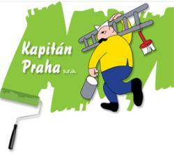 Kapitán Praha s.r.o. Malíř, natěrač, tapetář, lakýrník