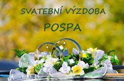 Svatební výzdoba POSPA