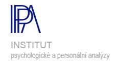 IPPA - INSTITUT PSYCHOLOGICKÉ A PERSONÁLNÍ ANALÝZY PhDr. Otakar Chaloupka, CSc.