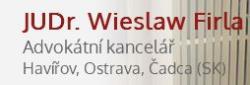 JUDr. Wieslaw Firla Advokátní kancelář