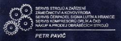 Pavi� Petr www.oprava-stroju.cz