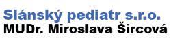 Slánský pediatr s.r.o. MUDr. Miroslava Šircová