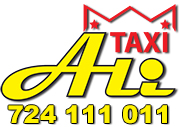 Taxi Ali s.r.o. Nonstop přeprava osob Mladá Boleslav