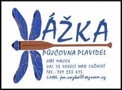 VÁŽKA - PŮJČOVNA PLAVIDEL Jiří Macek