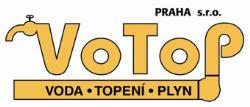 VOTOP Praha s.r.o. voda topeni plyn