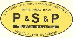 Antonín Pech P+S+P - plyn, voda, topení, Žatec