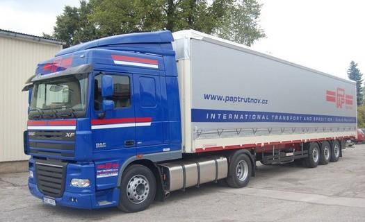Export import zboží tuzemská mezinárodní silniční doprava Trutnov