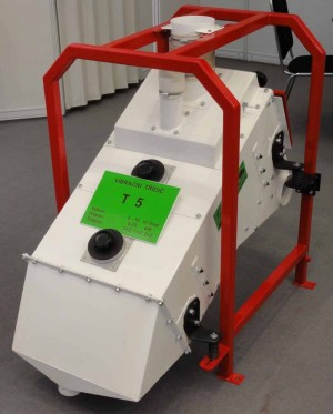 Vibrační třídiče k roztřídění a separaci materiálů