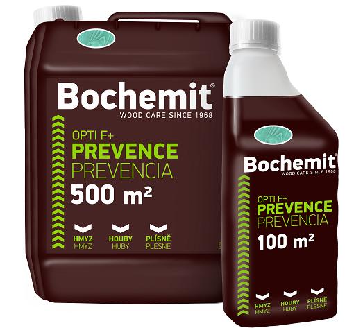 BOCHEMIT® Opti F – kvalitní ochrana konstrukčního řeziva proti biotickým škůdcům