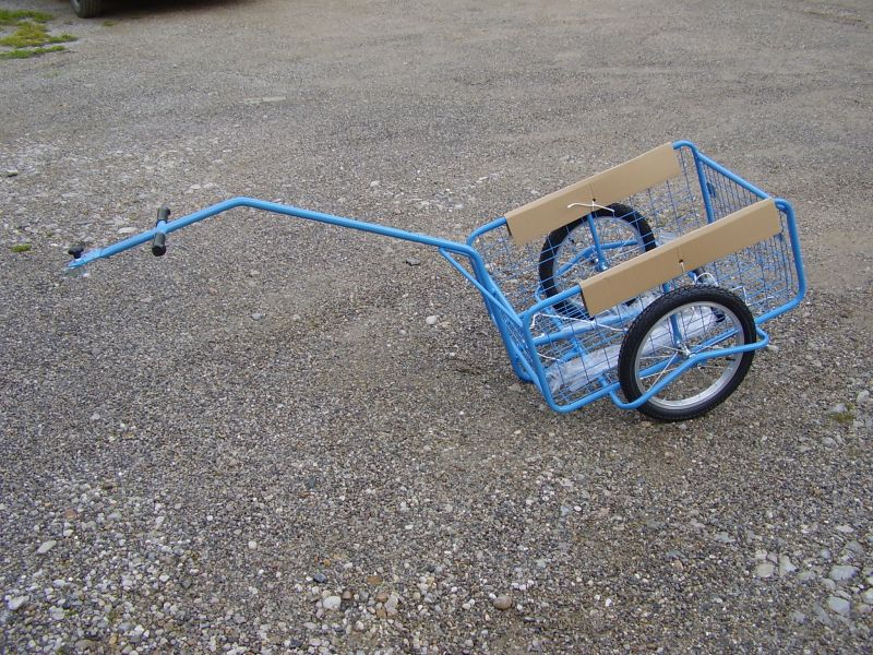 Dvoukolový vozík za kolo