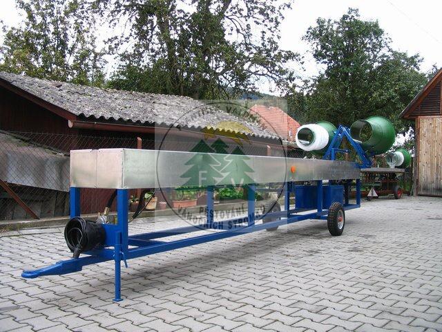 Stroje na balení stromků velkokapacitní