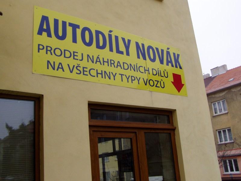 Prodejce náhradních dílů na osobní automobily Znojmo