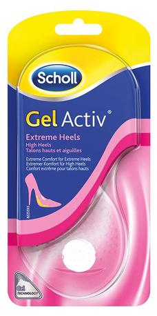 Scholl GelActiv gelové vložky za akční cenu 299 Kč - pohodlí v dámské obuvi