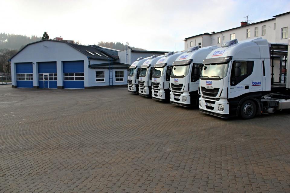 Zahraniční kamionová doprava Trutnov