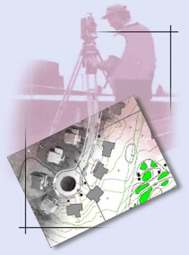 Mapování polohopisu a výškopisu, zaměření skutečného provedení stavby