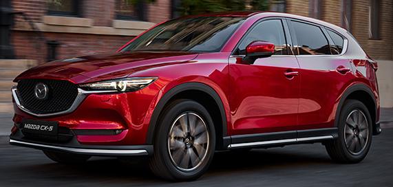 Mazda CX-5 - nejnovější kompaktní SUV s kompletně přepracovaným designem interiéru