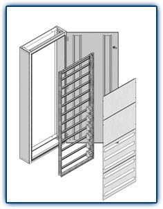 Rozvodnice pro jištění a ovládání elektrických obvodů v budovách, výroba