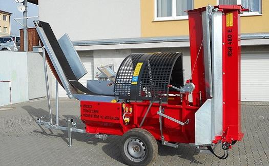 Výroba štiepačiek palivového dreva na zákazku od certifikovaného českého výrobcu