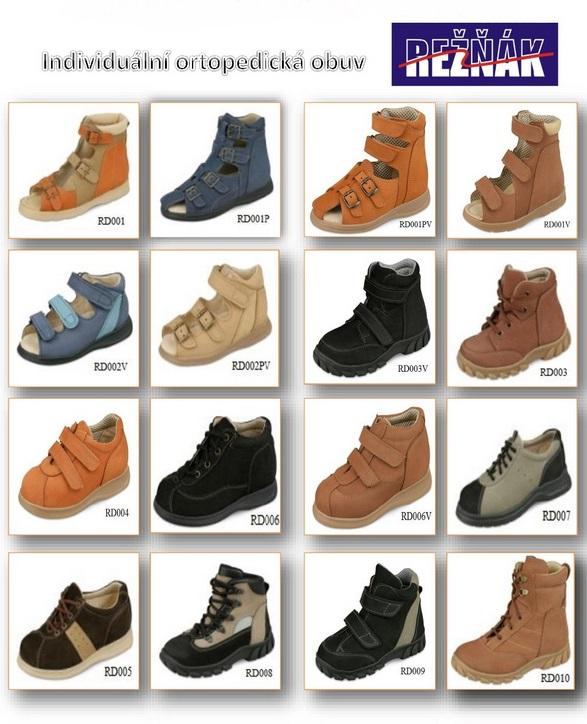 dětská ortopedická obuv Zlín