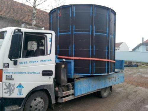 Dodání a montáž kanalizační jímky v obci Dobré Pole