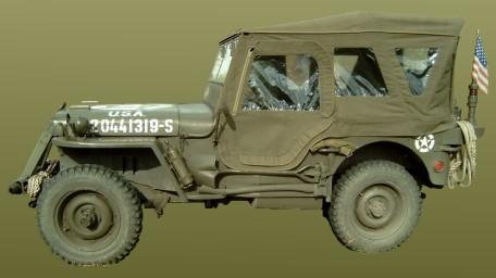 Doplňky na vojenská a historická vozidla z 2. sv. války