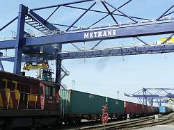 Přepravní kontejnery pro skladování zboží