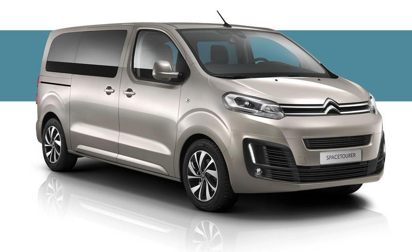 Citroën SpaceTourer s posuvnými dveřmi - prostorný rodinný vůz, možnost testovací jízdy