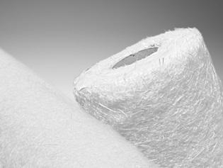 kombimateriály z různých typů tkanin