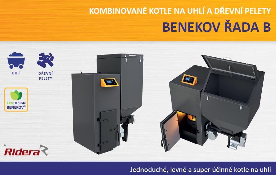 Jednoduché, levné a super účinné kombinované kotle na uhlí Benkov řady B
