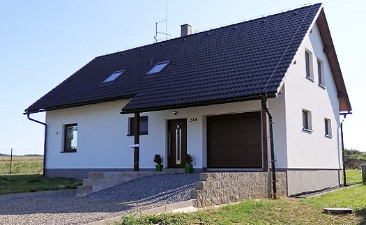 Typové bungalovy na klíč Vysočina
