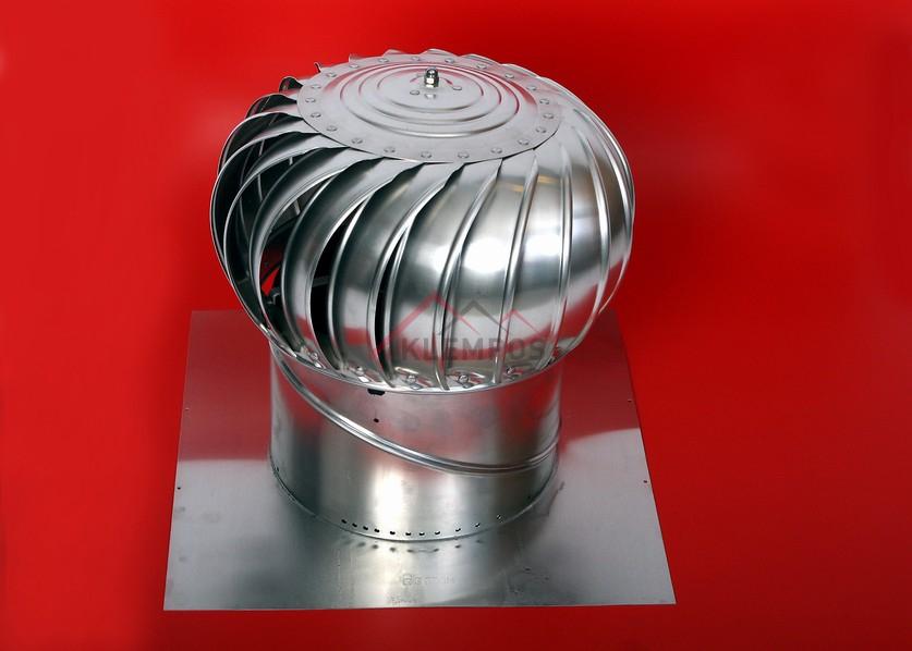 ventilační turbíny Edmonds WINDMASTER pro všechny druhy střech