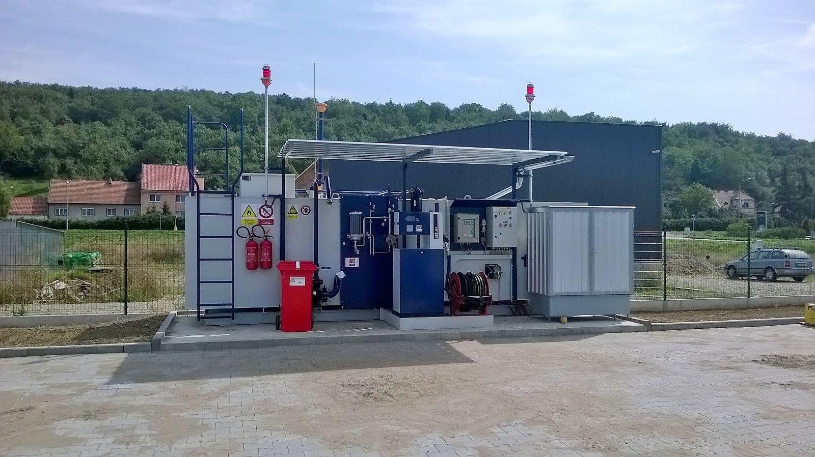 Nová technologie čerpacích stanic pro výdej pohonných hmot na letištích