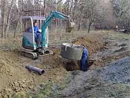Zasakovací systémy, krechty - pro zasakování dešťových vod, srážkové vody